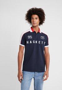 Hackett Aston Martin Racing - Koszulka polo - navy/multi - 0
