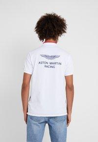 Hackett Aston Martin Racing - Koszulka polo - navy/multi - 2