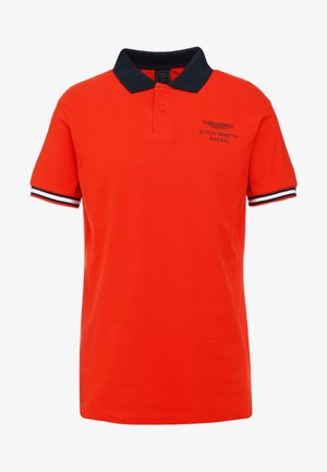 AMR TAPE POLO - Polotričko - orange lacquer