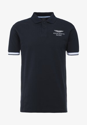 AMR TAPE POLO - Koszulka polo - navy