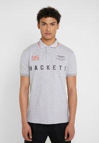 Hackett Aston Martin Racing - AMR MULTI SS - Polo shirt - grey marl - 0