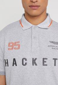 Hackett Aston Martin Racing - AMR MULTI SS - Polo shirt - grey marl - 5