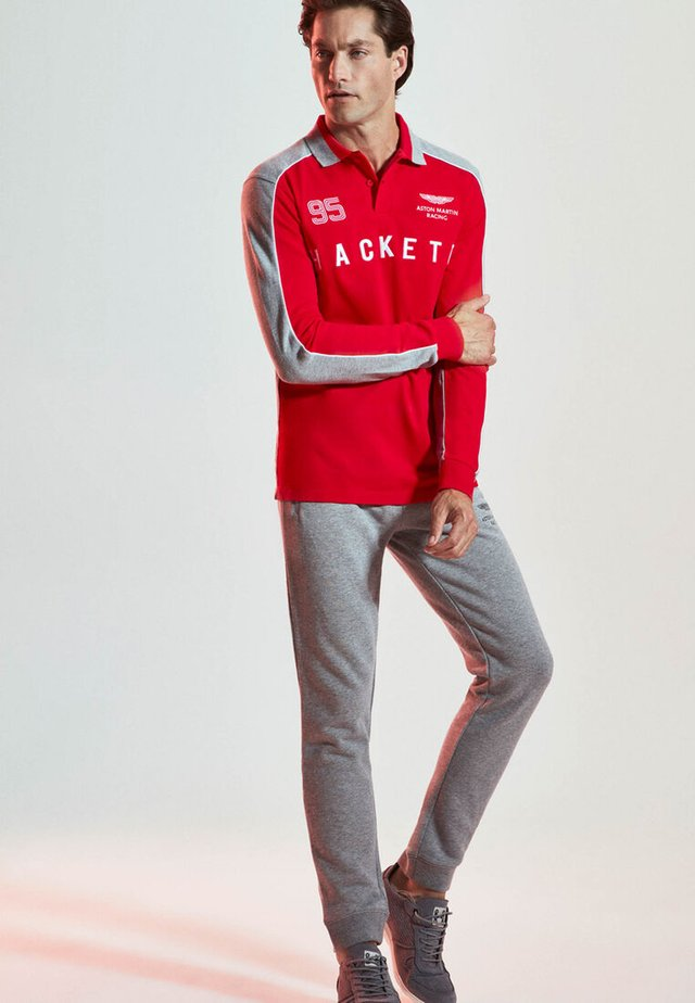 AMR - Polo shirt - red/multi