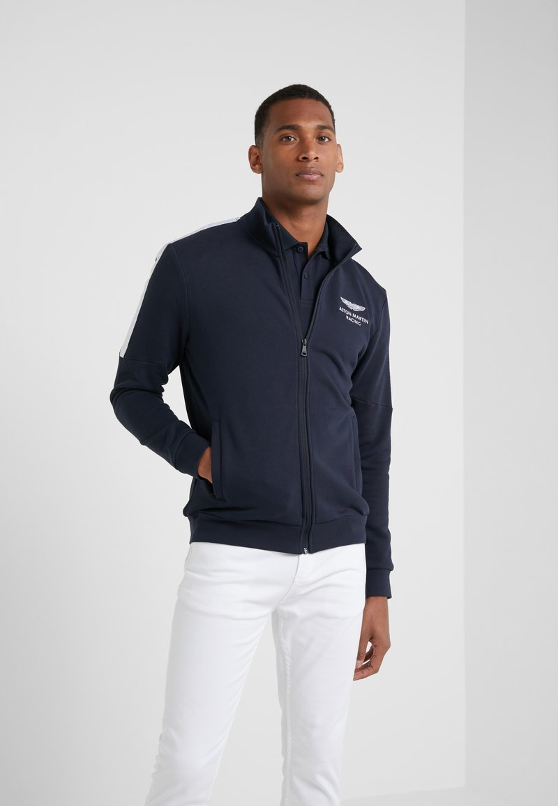 Hackett Aston Martin Racing - Felpa aperta - navy