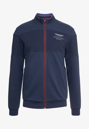 TRACK TOP - Zip-up hoodie - navy