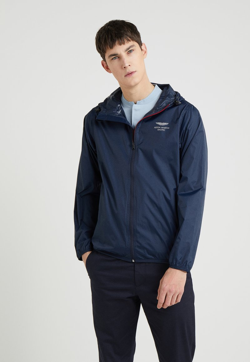 Hackett Aston Martin Racing - AMR PACKABLE  - Giacca leggera - navy