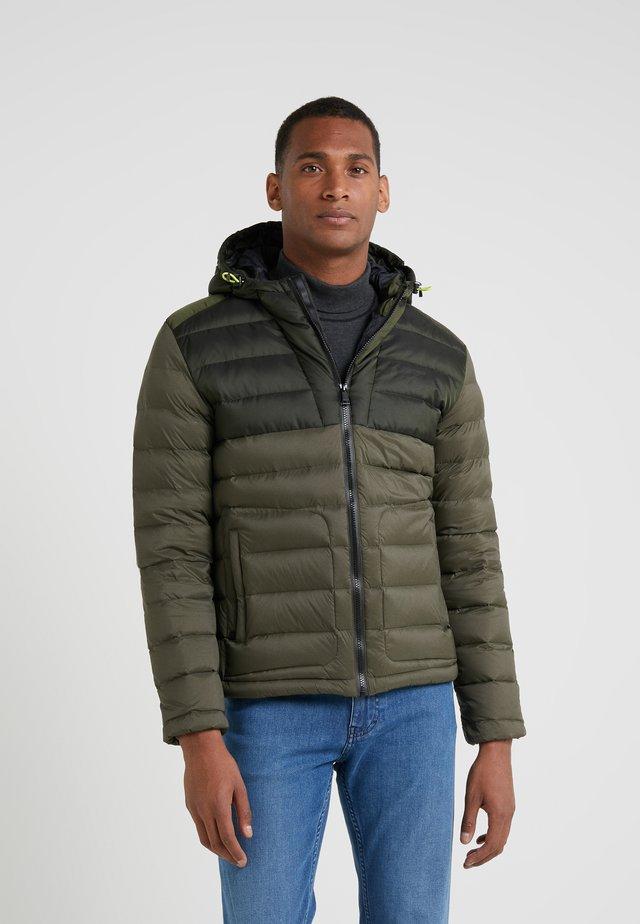 CORE SKI JACKET - Down jacket - olive