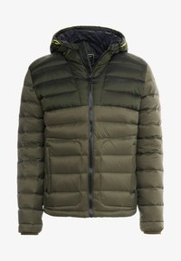 Hackett Aston Martin Racing - CORE SKI JACKET - Dunjakke - olive - 3