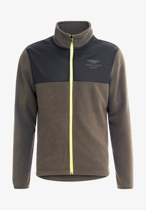 Fleecová bunda - dark khaki