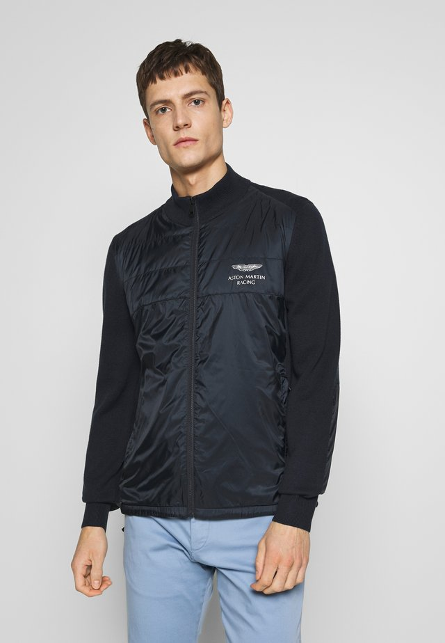 TRACK ZIP - Summer jacket - navy