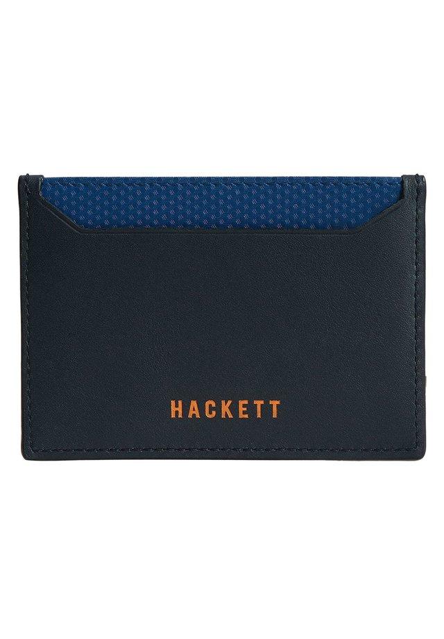 Passport holder - navy/blue