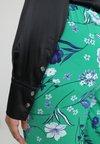Ashley Graham x Marina Rinaldi - BAMBOLA WRAP BODYSUIT - Blouse - nero