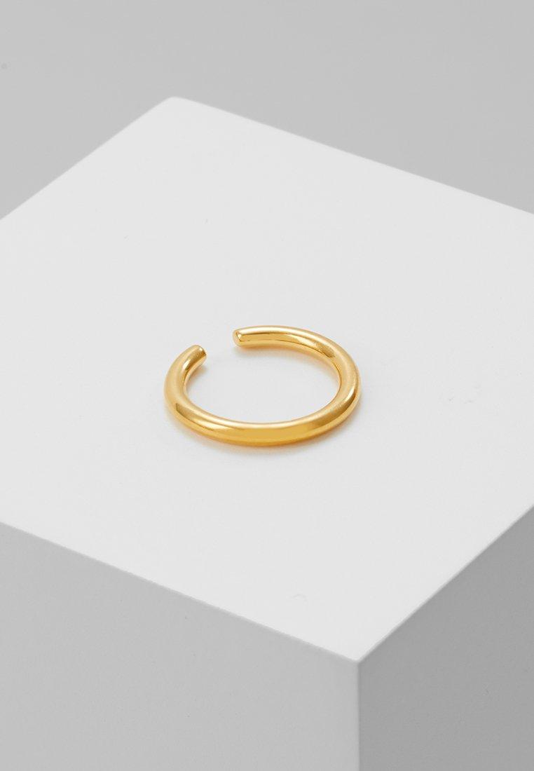 Astrid & Miyu - BASIC EAR CUFF - Earrings - gold-coloured