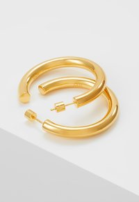 Astrid & Miyu - BASIC LARGE HOOP EARRINGS - Kolczyki - gold-coloured - 2