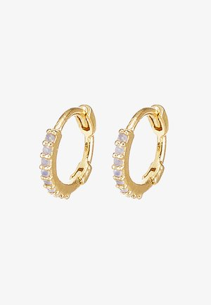 MYSTIC HUGGIES - Earrings - gold-coloured