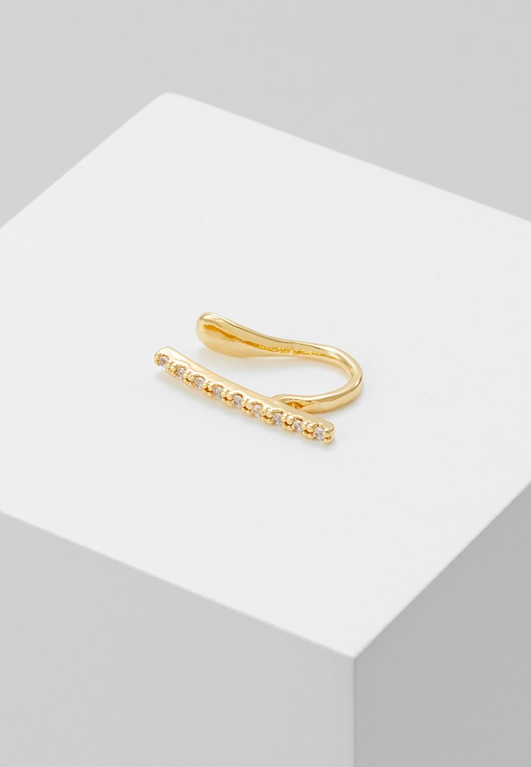 Astrid & Miyu - THE THIN LINE EAR CUFF - Oorbellen - gold-coloured