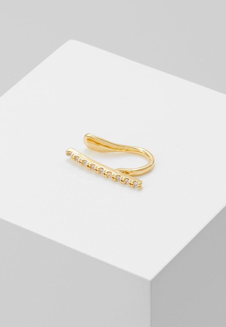 Astrid & Miyu - THE THIN LINE EAR CUFF - Boucles d'oreilles - gold-coloured