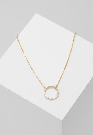 TUXEDO CIRCLE NECKLACE - Necklace - gold-coloured