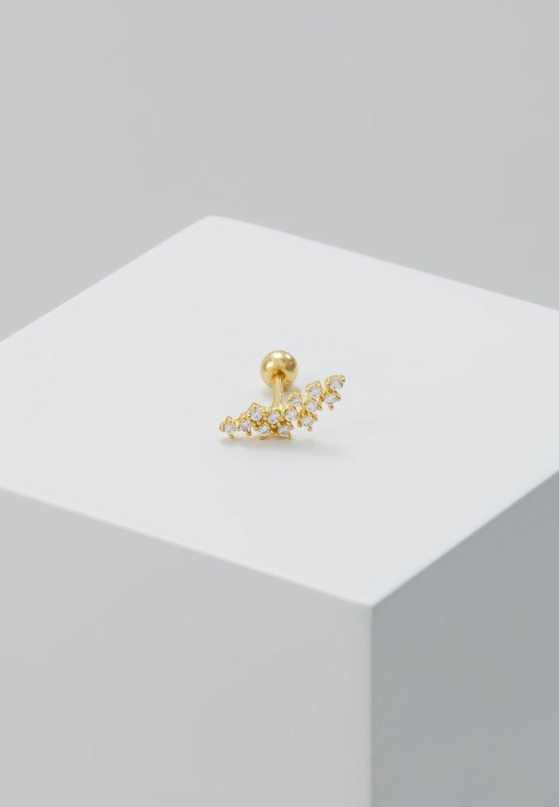 Astrid & Miyu - BARBELL - Earrings - gold-coloured