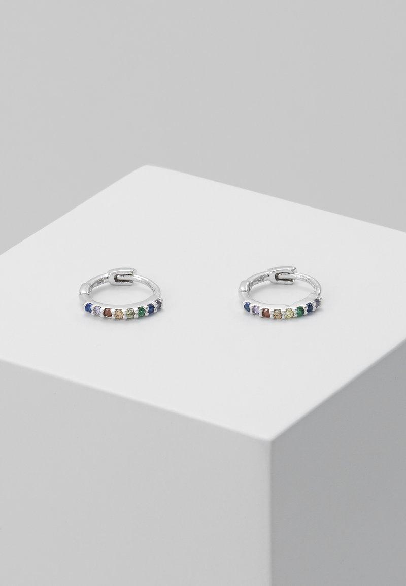 Astrid & Miyu - RAINBOW HUGGIES - Pendientes - silver-coloured