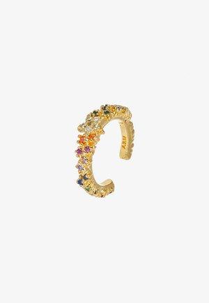 RAINBOW STAR EAR CUFF - Earrings - gold-coloured