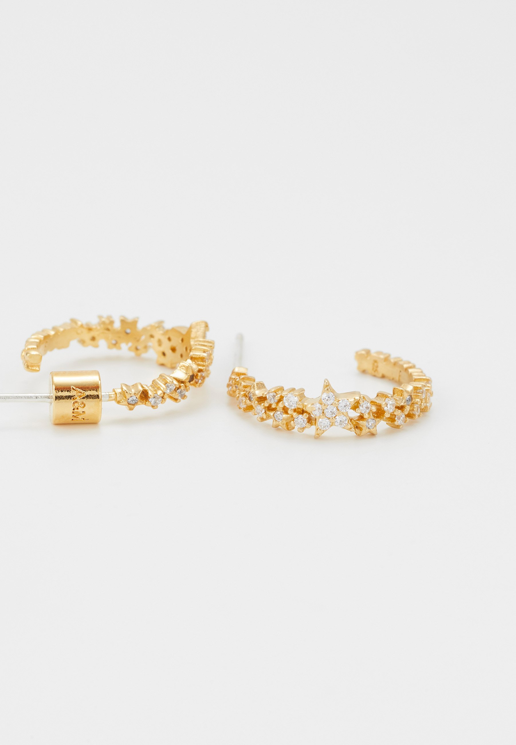 Astrid & Miyu MYSTIC STAR HOOPS - Örhänge - gold-coloured