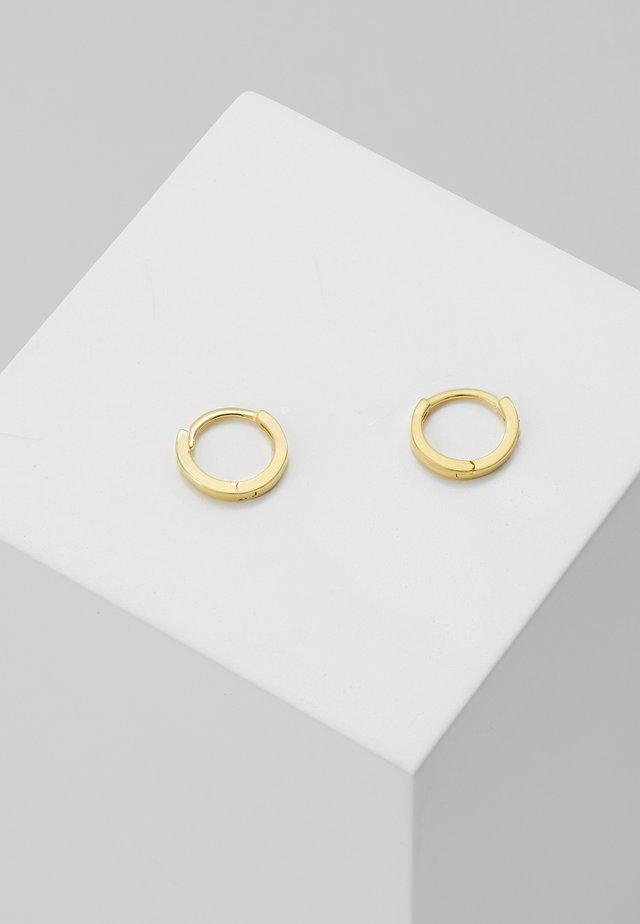 MYSTIC SIMPLE HOOPS - Earrings - gold