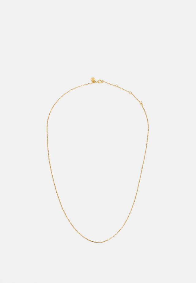 CHARM COLLECTION FINE TWIST CHAIN SHORT - Collana - gold-coloured