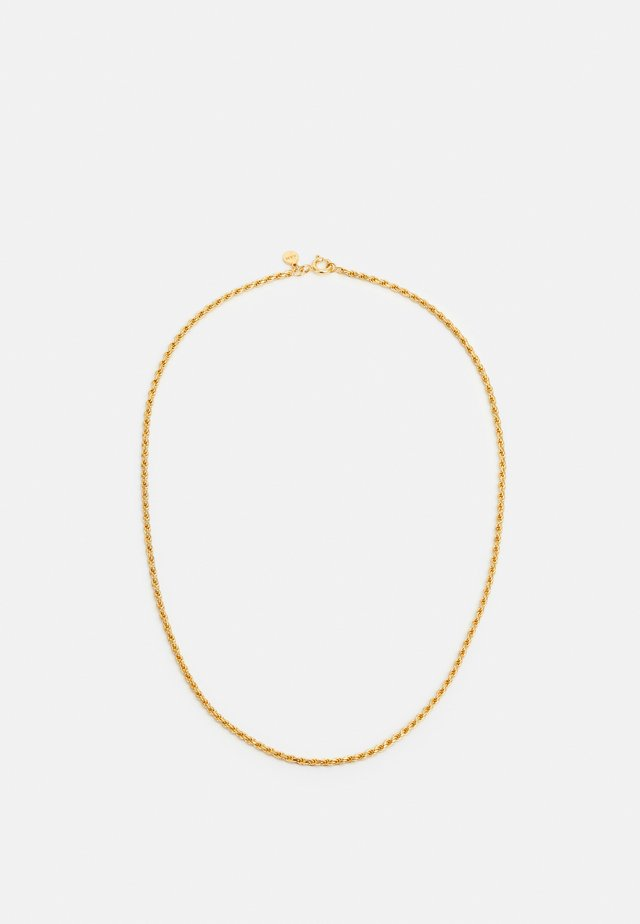 VINTAGE COLLECTION  ROPE CHAIN NECKLACE - Collana - gold-coloured