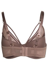 Ashley Graham Lingerie by Addition Elle - ESSENTIAL DIVA BRA - Underwired bra - deep taupe - 1
