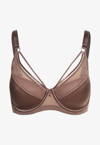 Ashley Graham Lingerie by Addition Elle - ESSENTIAL DIVA BRA - Underwired bra - deep taupe - 0