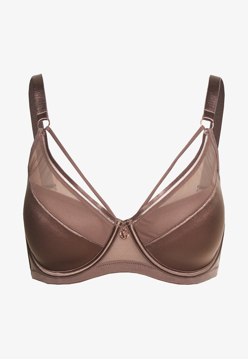 Ashley Graham Lingerie by Addition Elle - ESSENTIAL DIVA BRA - Underwired bra - deep taupe