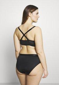 Ashley Graham Lingerie by Addition Elle - FASHION FRONT CLOSURE BRA - Underwired bra - black - 3