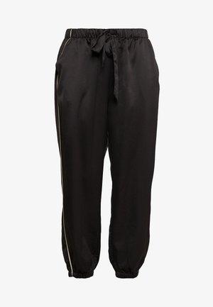 FASHION CROPPED BOTTOM - Pyjama bottoms - black