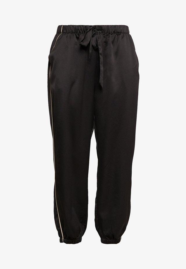 FASHION CROPPED BOTTOM - Nattøj bukser - black