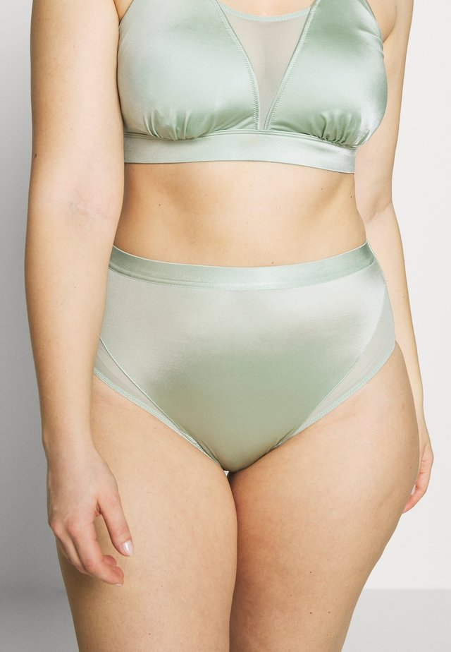 FASHION PANTY - Underkläder - frosty green