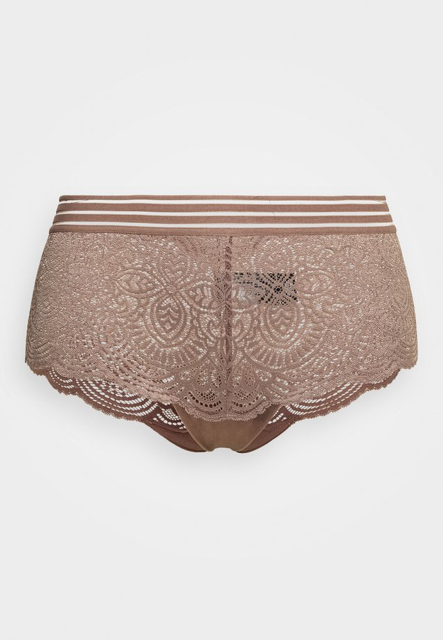 ESSENTIAL BOYSHORT - Panties - deep taupe