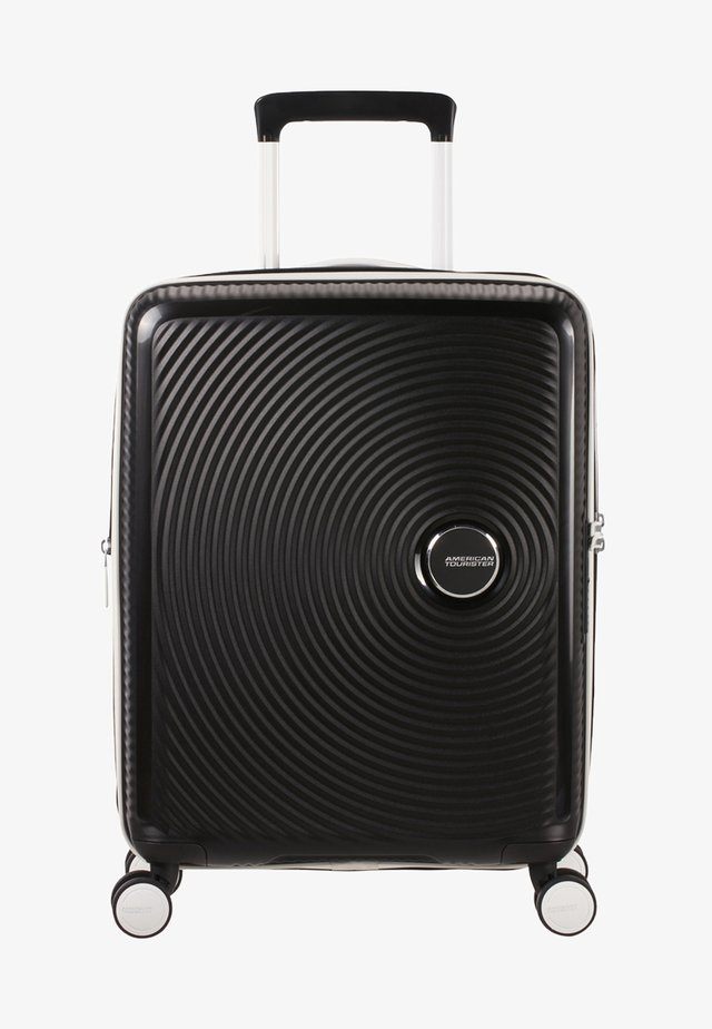 SOUNDBOX - Wheeled suitcase - black/white