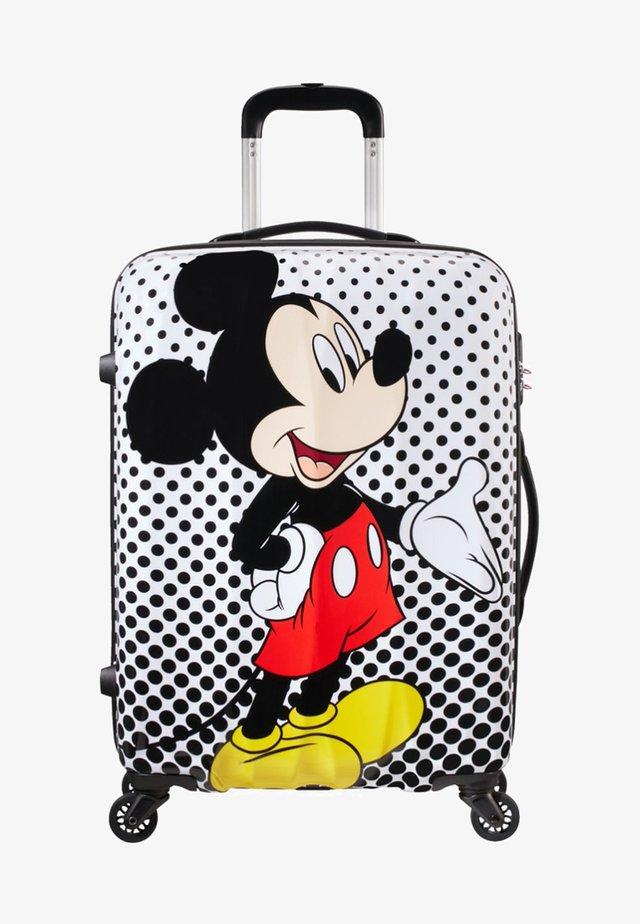 DISNEY LEGENDS ALFATWIST - Wheeled suitcase - white/black