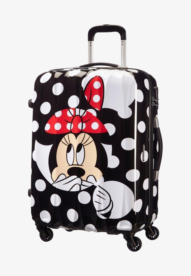 DISNEY LEGENDS ALFATWIST - Wheeled suitcase - black/white