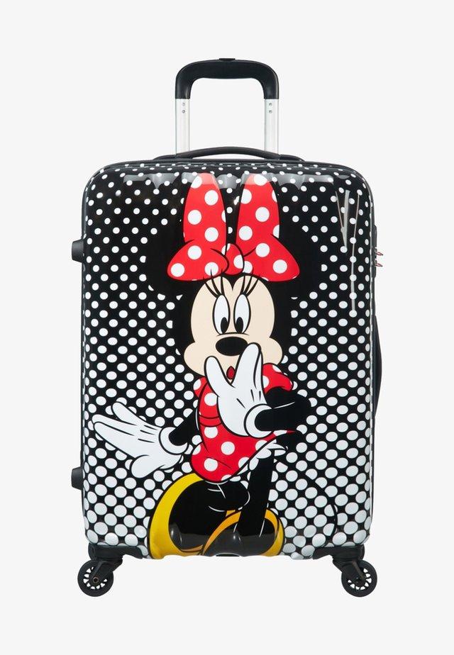 DISNEY LEGENDS ALFATWIST - Wheeled suitcase - mottled black