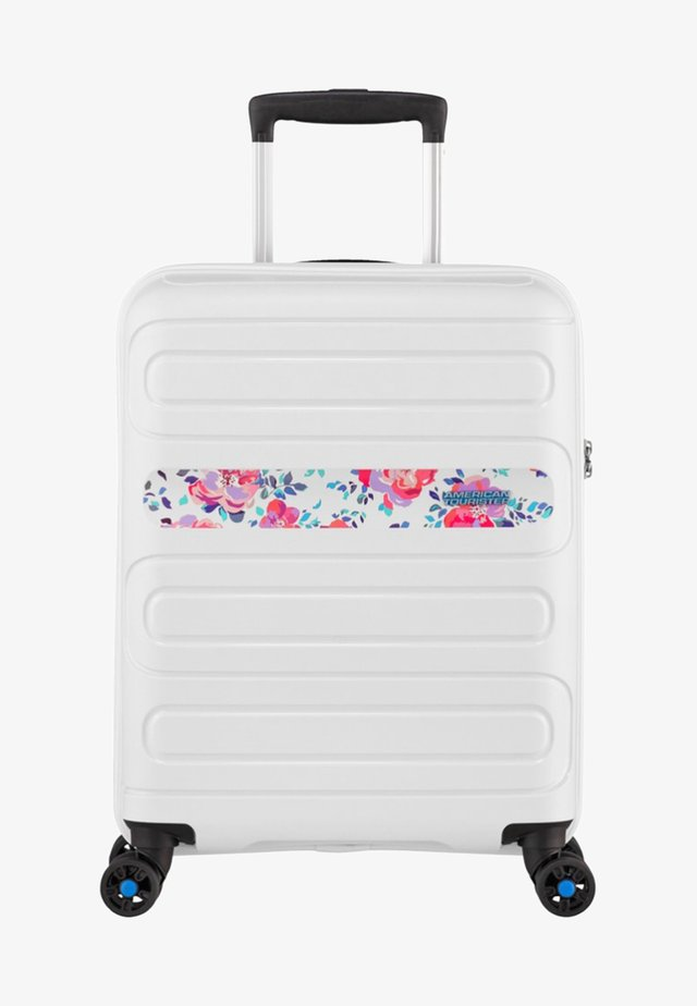 SUNSIDE - Wheeled suitcase - colour flowers