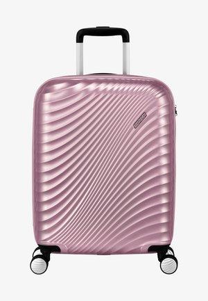 MIT 4 ROLLEN - Wheeled suitcase - metallic pink