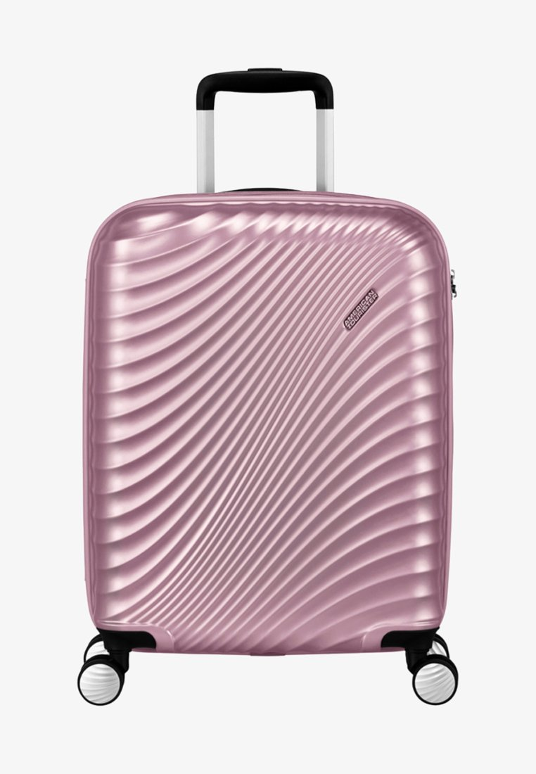 American Tourister - MIT 4 ROLLEN - Wheeled suitcase - metallic pink