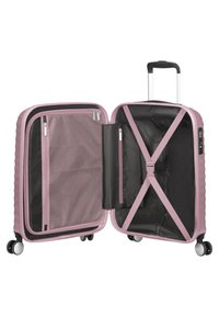 American Tourister - MIT 4 ROLLEN - Wheeled suitcase - metallic pink - 4
