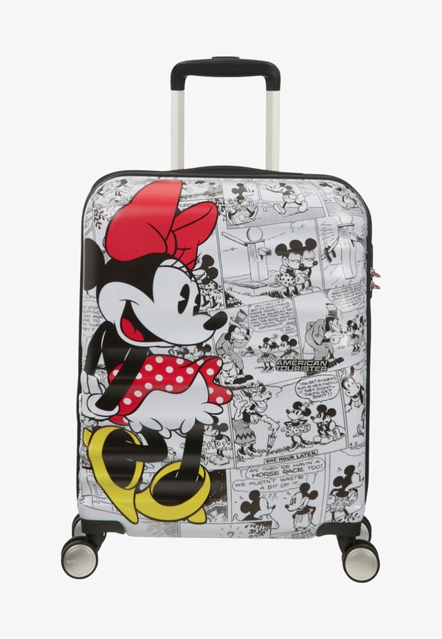 WAVEBREAKER DISNEY - Wheeled suitcase - mottled red