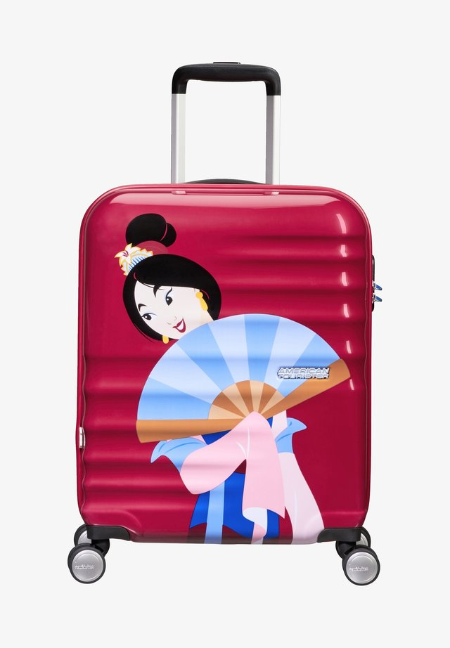 WAVEBREAKER DISNEY - Wheeled suitcase - bordeaux