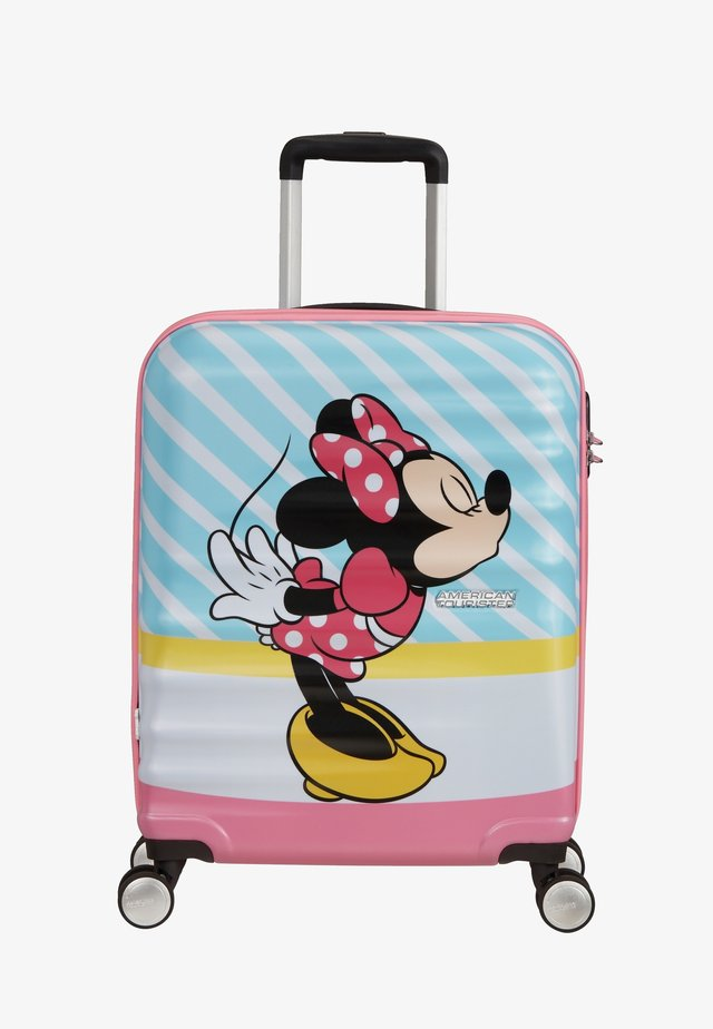 WAVEBREAKER DISNEY - Wheeled suitcase - mottled light pink