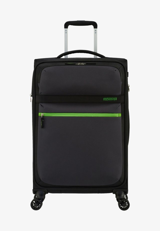 MATCHUP - Wheeled suitcase - mottled black