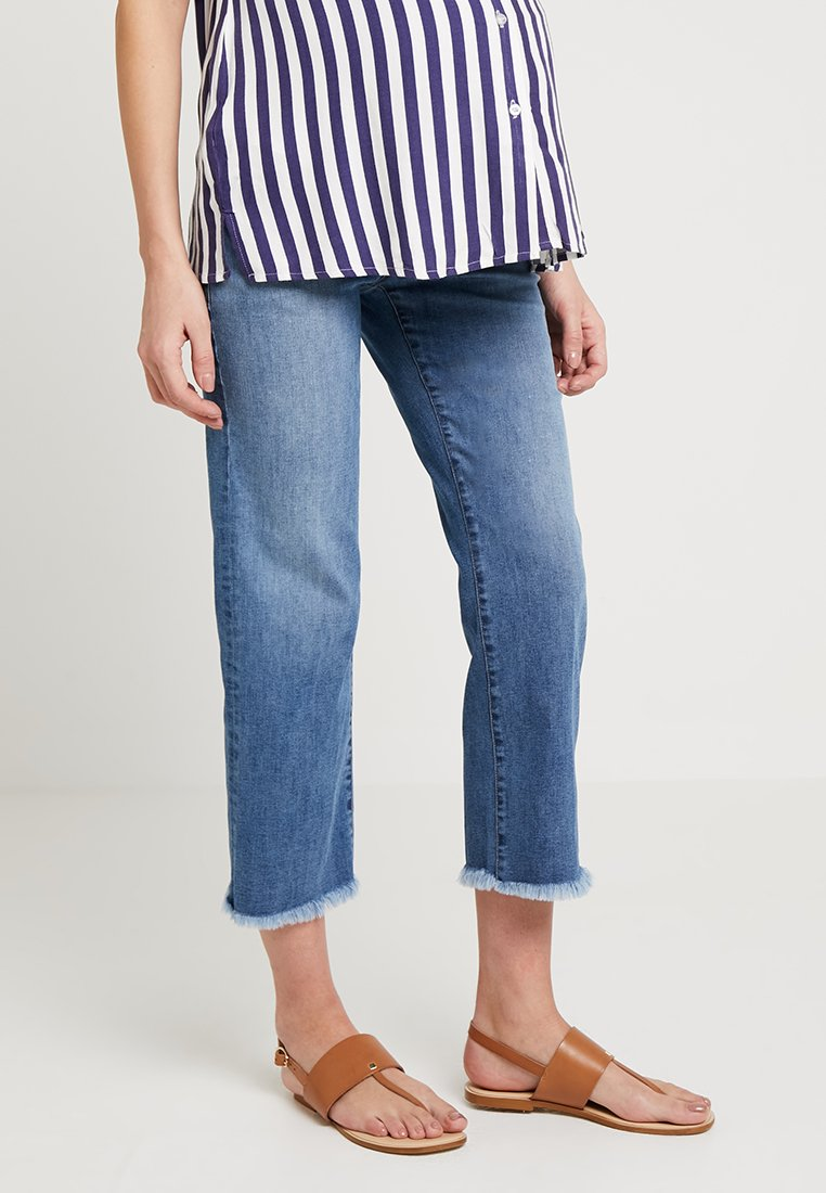 ATTESA - STRAIGHT - Jeans a sigaretta - blue